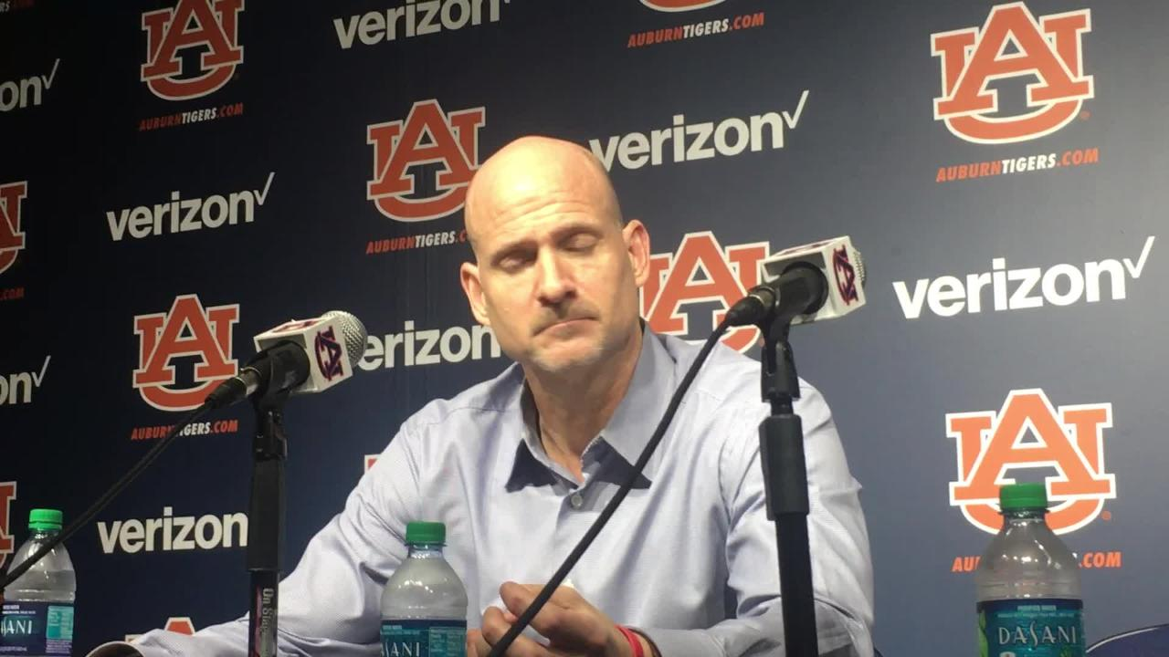 Ole Miss head coach Andy Kennedy after 85-70 loss to No. 22 Auburn.