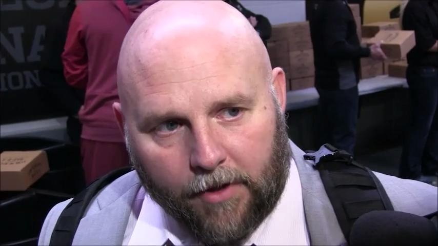 Alabama offensive coordinator Brian Daboll, a former assistant with the New England Patriots, talks about winning a national championship after Monday night's 26-23 overtime win over Georgia in the College Football Playoff title game.