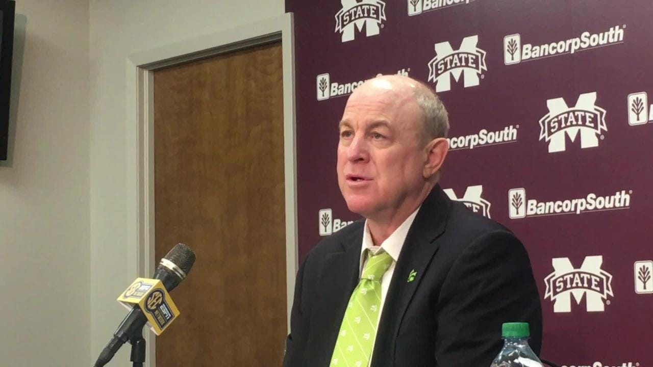 Mississippi State coach Ben Howland after 76-68 loss to No. 22 Auburn.