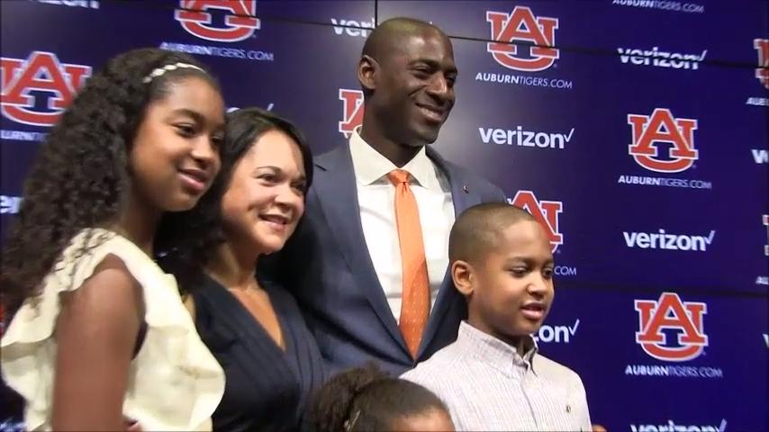 Auburn athletic director Allen Greene talks about the importance of his family.