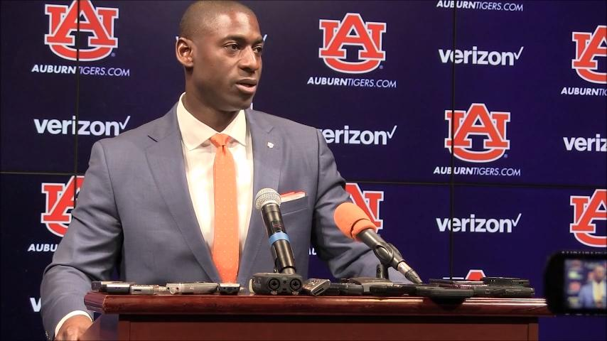 Allen Greene talks about the importance of diversity as he's first African-American athletic director at Auburn University.
