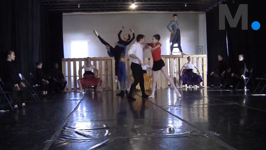 "The Montgomery Ballet rehearses for ""Carmen"" in its new black box theater on Saturday, Feb. 3, 2018. ""Carmen"" will open on Friday and Saturday, Feb. 9-10, at 7:30 p.m."