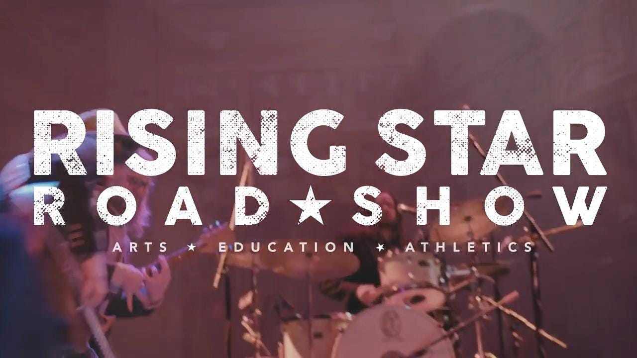 The Rising Star Road Show comes to Montgomery Performing Arts Centre on Saturday February 17  at 8 pm and will bring acclaimed artists Jamie Kent, Tim Jackson, Anthony Peebles, Jon Michael Ogletree, and Dee White.