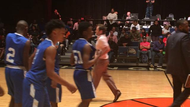 Sidney Lanier took a 49-46 loss to G.W. Carver in the Class 6A boys South Regional championship game at the Dothan Civic Center on Tuesday.