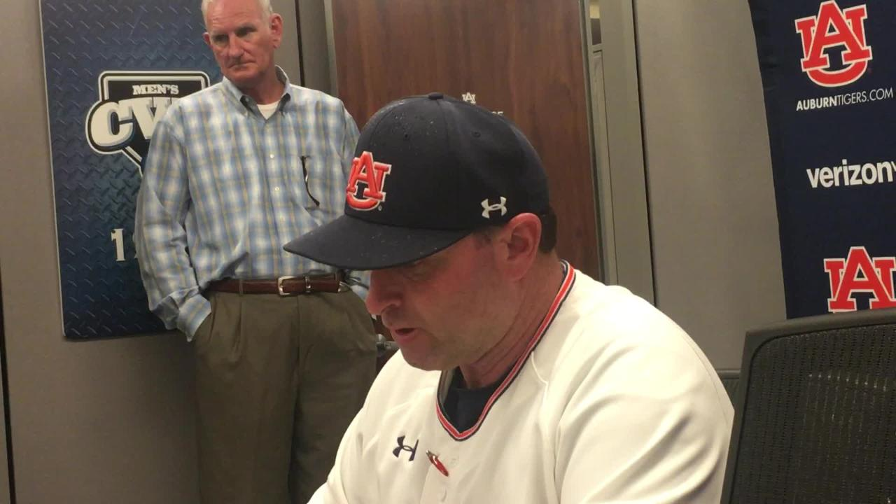 Auburn head coach Butch Thompson after 3-2 win over Georgia State.