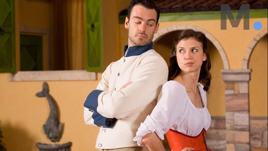 "Woodrow Proctor, the actor who plays Benedick, and director Greta Lambert talk about love and deception that draws Benedick and Beatrice together in Alabama's Shakespeare Festival's production of ""Much Ado About Nothing."""