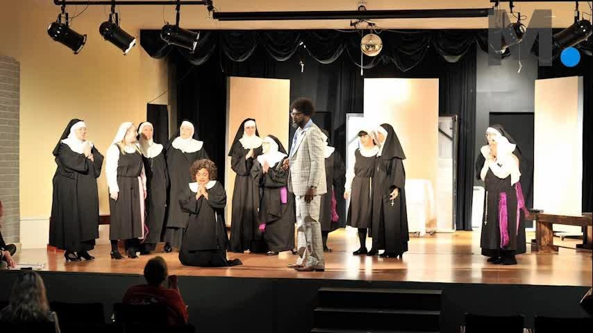 "Talking with Desirae Lewis, who plays the role of Deloris Van Cartier in the Millbrook Community Players production of ""Sister Act: The Musical."" The play opens Thursday, Feb. 22, 2018."