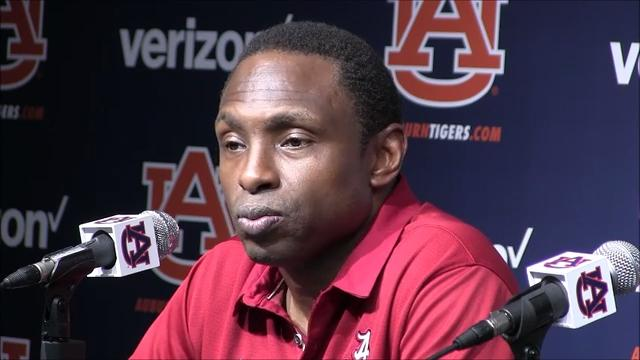 Alabama coach Avery Johnson and players Collin Sexton and Dazon Ingram discuss Wednesday night's 90-71 loss at No. 13-ranked Auburn
