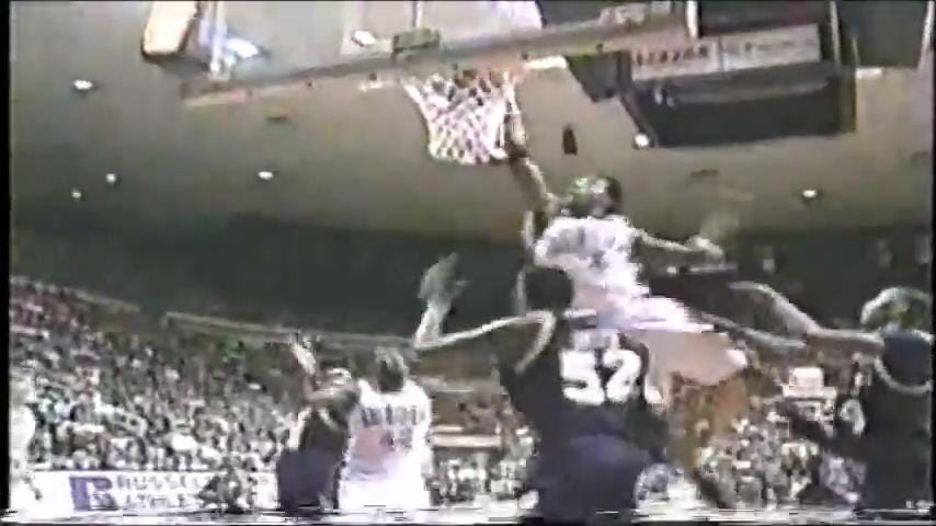 Flashback Auburn 1998-99: THE Dunk (and more)