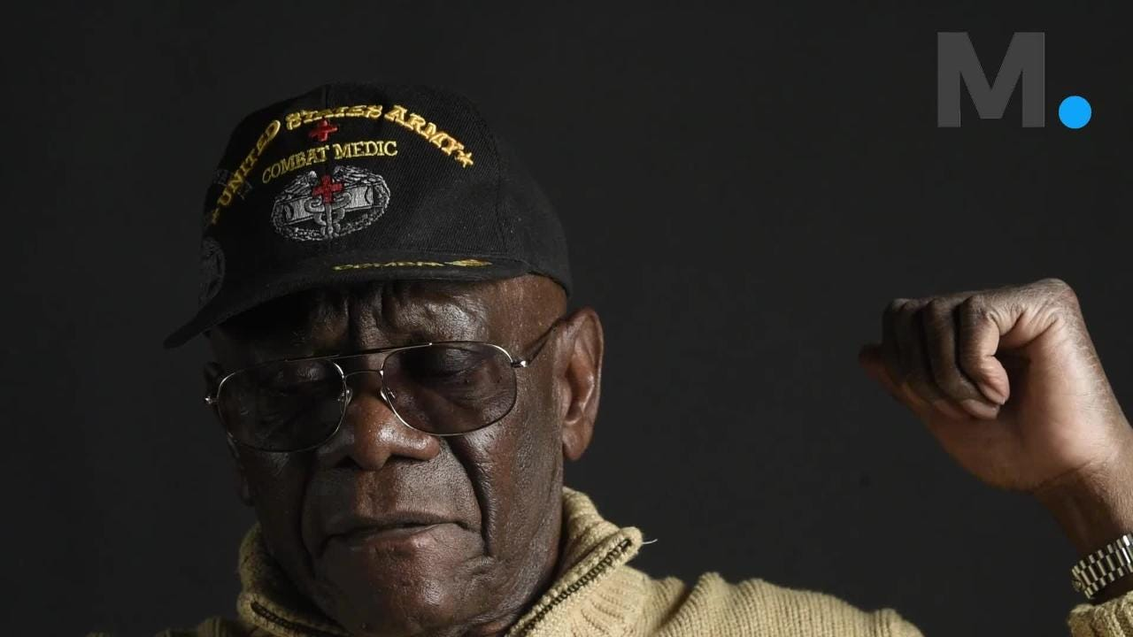 Clinton Arrington, a Vietnam Medic, talks about rescuing captain, wonders what became of him