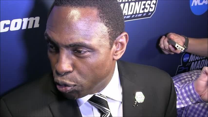 Alabama coach Avery Johnson talks about the Crimson Tide after Saturday's loss to Villanova in the NCAA Tournament.