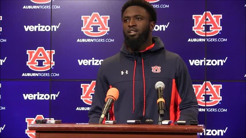 Auburn receiver Nate Craig-Myers talks about earning the trust of his coaches after Thursday's practice.