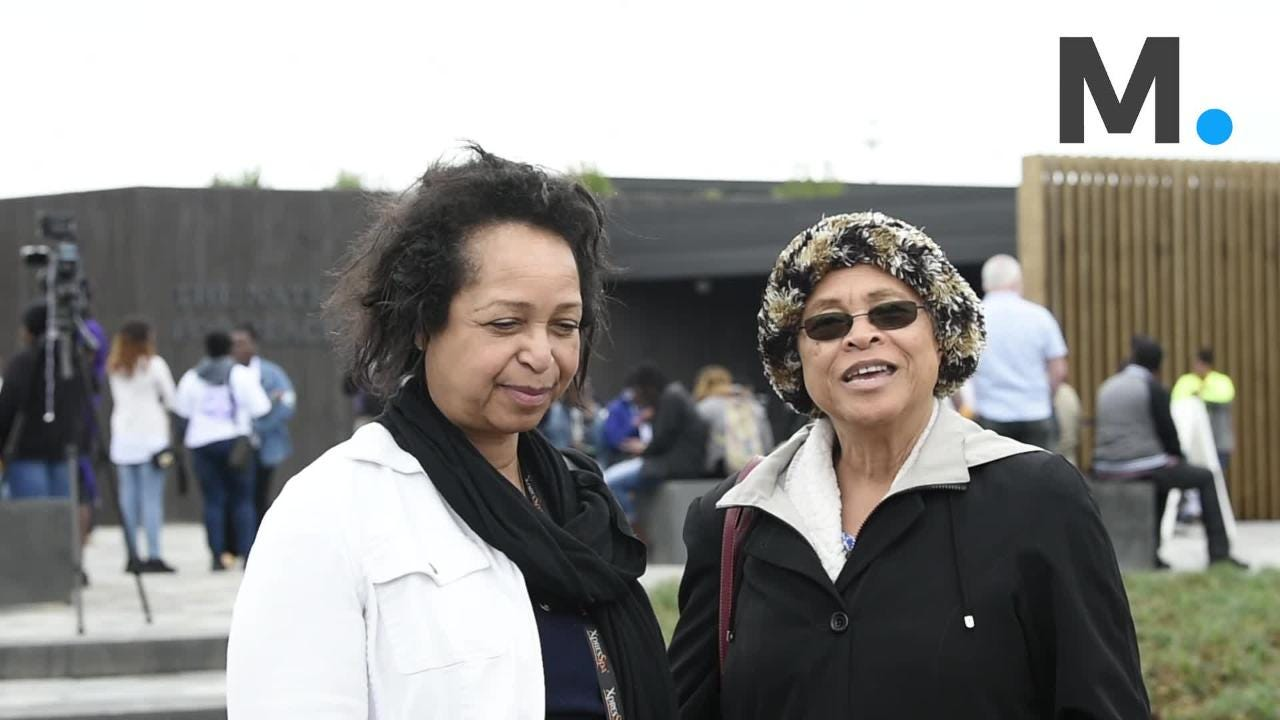 They came from everywhere to see the Peace and Justice Memorial