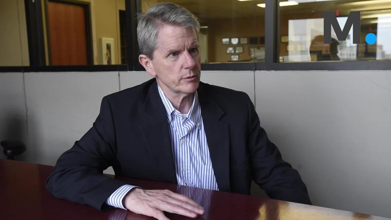 Democratic AG candidate Chris Christie talks about his platform