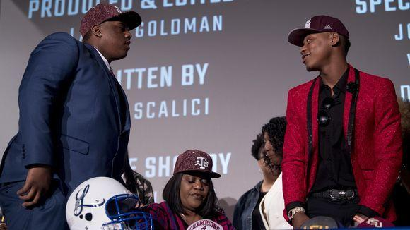 First cousins James Foster and Tank Jenkins will be roommates at Texas A&M. Do the two have ground rules?