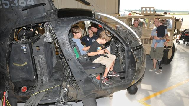 Maj. Annie Driscoll is helping to organize public Gathering of Eagles events in Montgomery, where there community can meet some of the nation's top aviators.