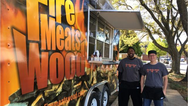 Montgomery's Fire Meats Wood makes their first appearance at Food Truck Mash-Up on June 9 at Riverfront Park downtown.