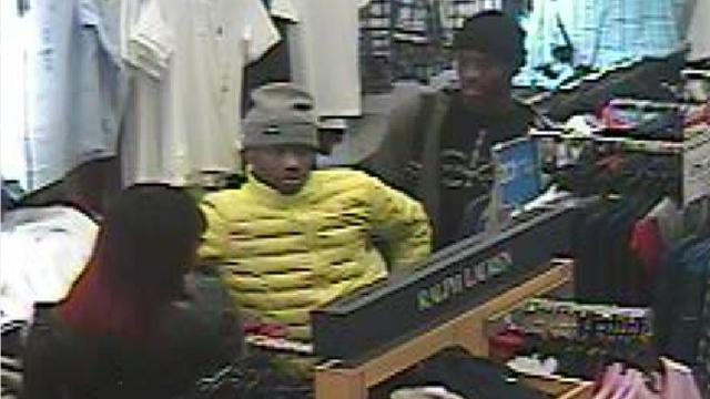 On March 3, 2018, at approximately 1:50 p.m., two unknown males and a female entered the Belk Clothing store in Prattville.