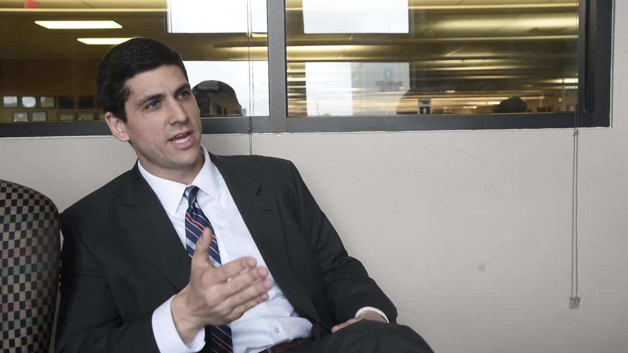 AG candidate Joseph Siegelman talks about his platform