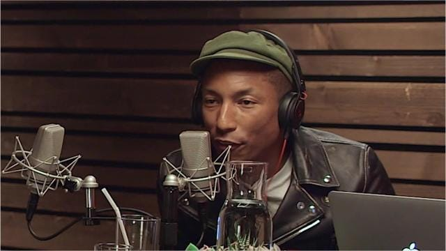 Pharrell Williams on Watch the Duck, an electronic R&B group comprised of Montgomerians Jesse Rankins and Eddie Smith III.