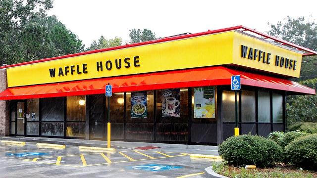 In 2004, Hurricane Charley hit Florida. FEMA personnel drove around assessing the damage, and noticed that several Waffle Houses were either closed or only serving a limited menu. It was an alarming site, because Waffle Houses virtually never close.