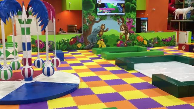 Tour The Finished Newtopia Kids Play Park