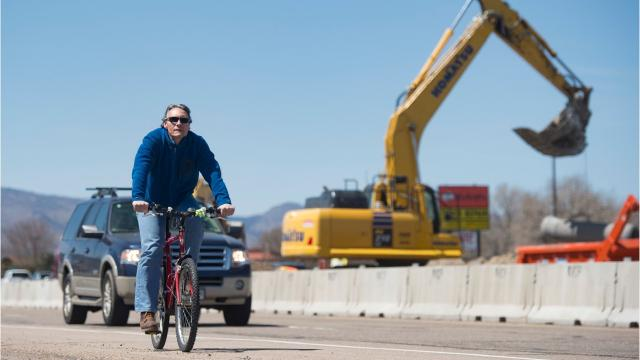 How to travel safely through construction zones.
