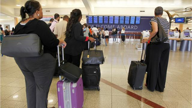 CNN Reports Close to 104 million passengers passed though Hartsfield-Jackson Atlanta International Airport in 2017, making it the world's busiest passenger airport for another year.. Globally, there were significant increases in passenger numbers, air cargo traffic and total aircraft movements. Major connecting hub Atlanta can thank its location as a major connecting hub and port of entry into North America for its continued dominance. The city is within a two-hour flight of 80% of the United States population of more than 300 million people.