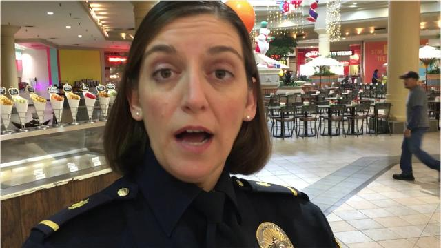 Montgomery Police Major Tonya Thompson shares a few tips for staying safe while shopping for the holidays.