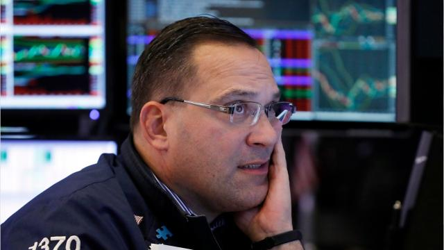 By noon on Dec. 7th, the top three markets on the New York Stock Exchange were down over 1-percent each.