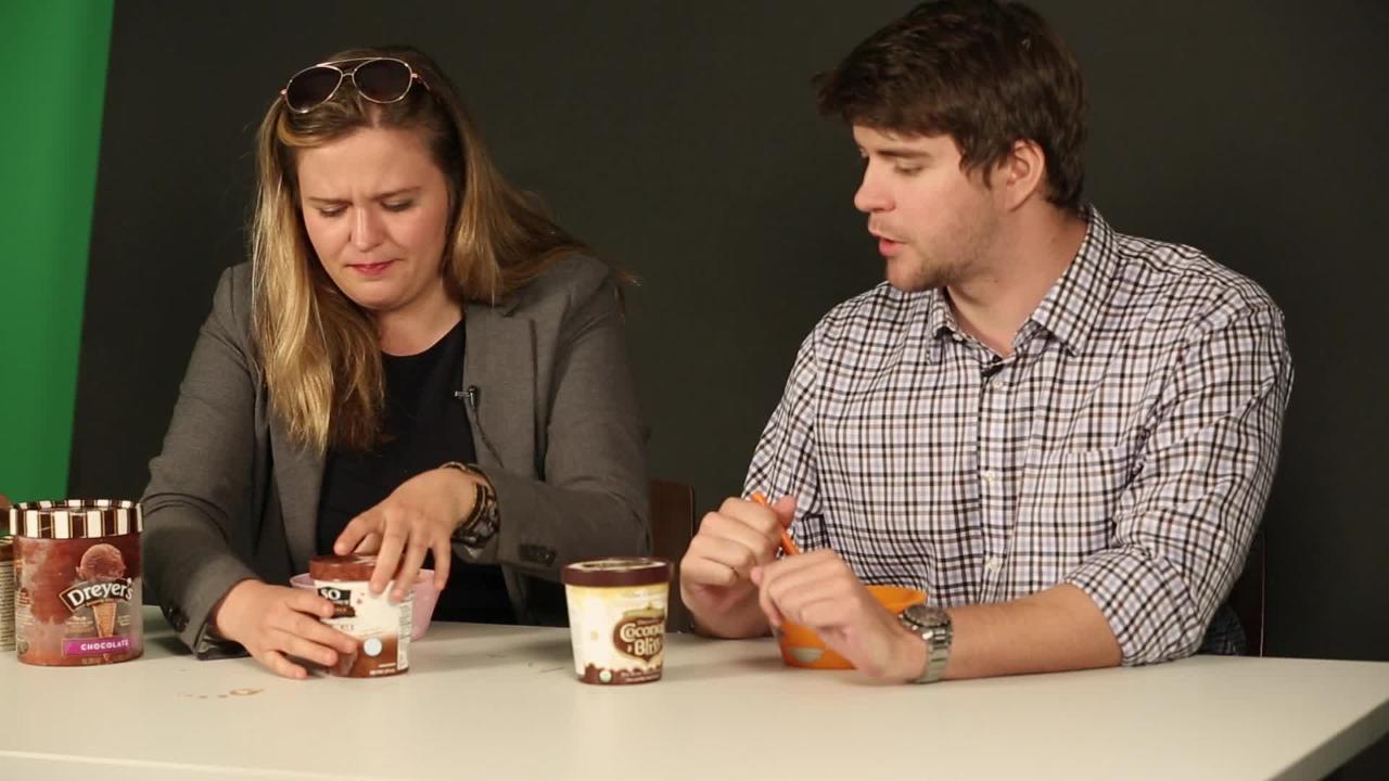 Taste Test: Chocolate Ice Cream