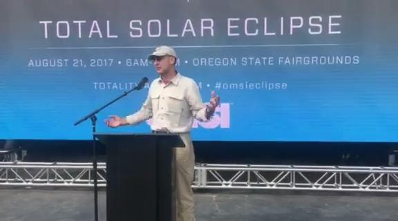 NASA astronaut from Silverton talks eclipse, science education