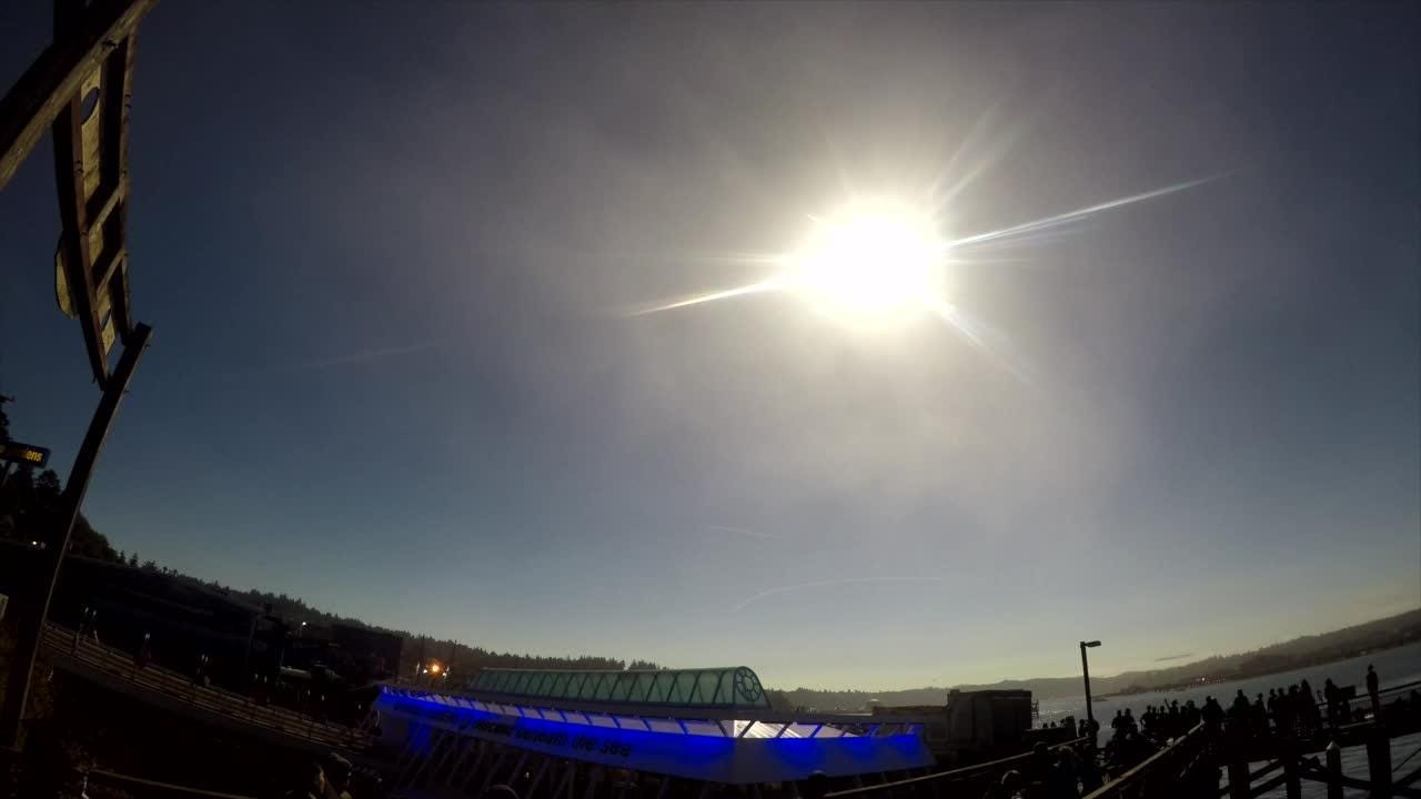 Oregon eclipse timelapse