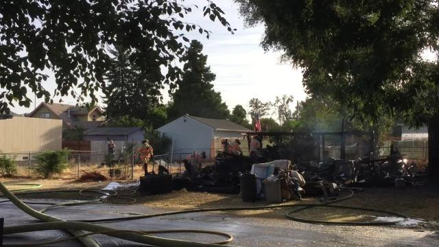 RAW: House fire on Lee St. in Salem