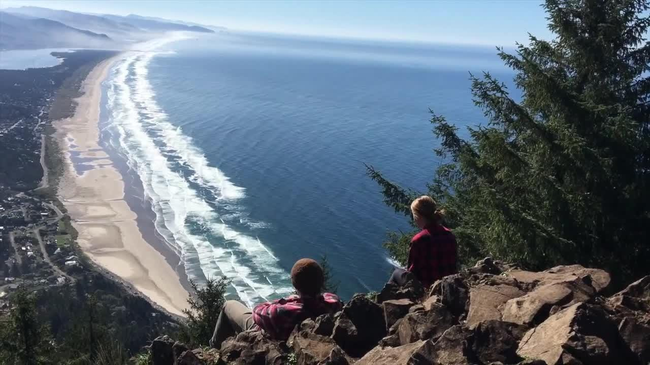 A hike up one of the Oregon Coast's highest mountains