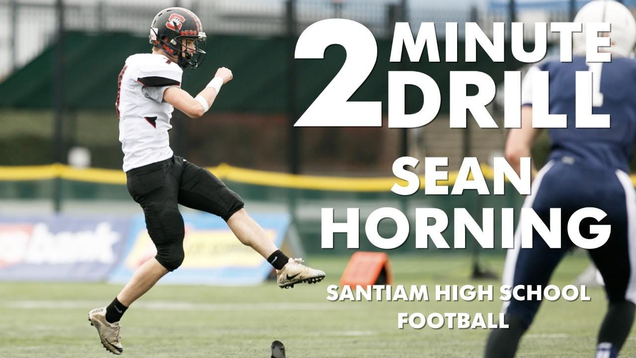 Sean Horning, a Santiam High School football player, talks Chick-fil-a, New York City and his 10-year high school reunion.
