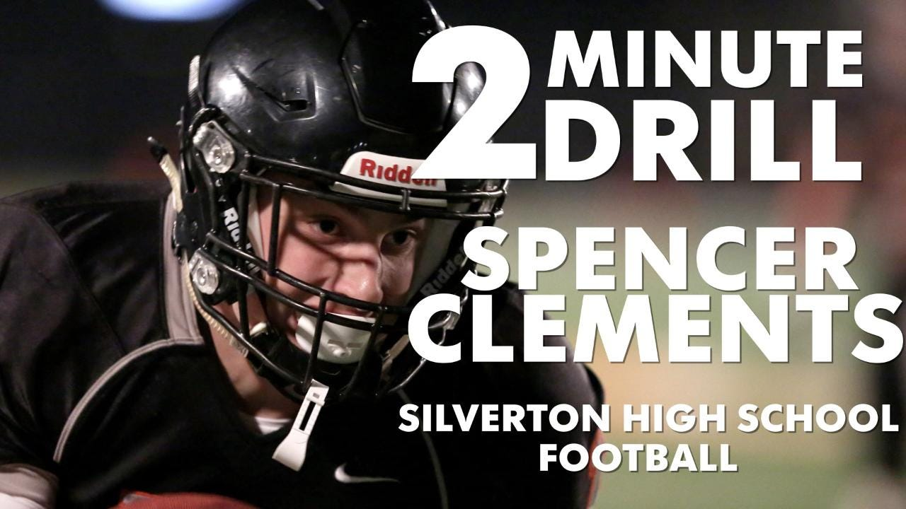 Spencer Clements, a Silverton football player, talks Chipotle, Jerry Rice and snowboarding.