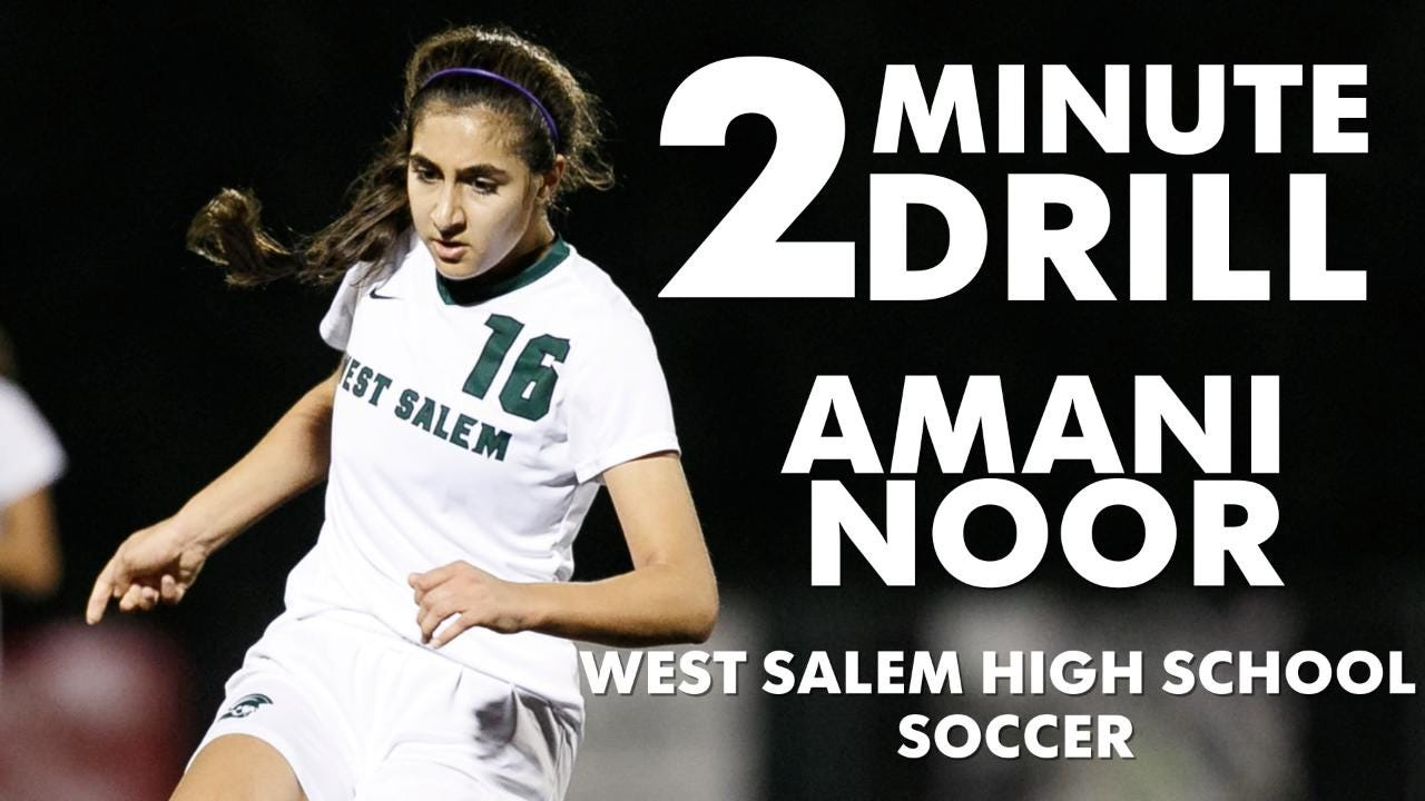 Amani Noor, a West Salem soccer player, talks Las Vegas, singing and being on her phone.