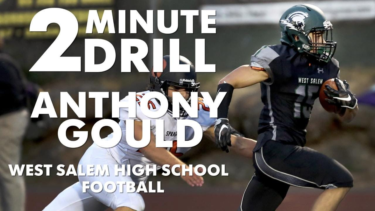 Anthony Gould, a West Salem football player, talks reading minds, Chipotle and Lebron James.