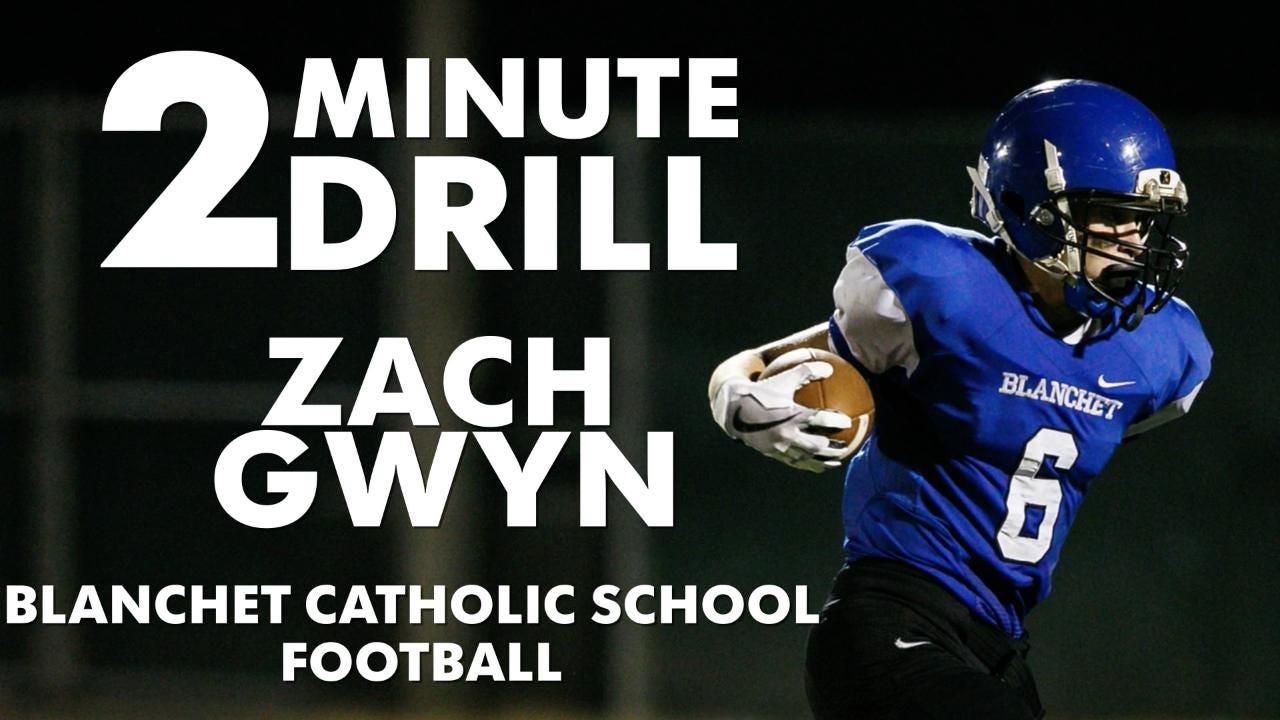 Zach Gwyn, a Blanchet football player, talks lacrosse, pre-calculus and flying.