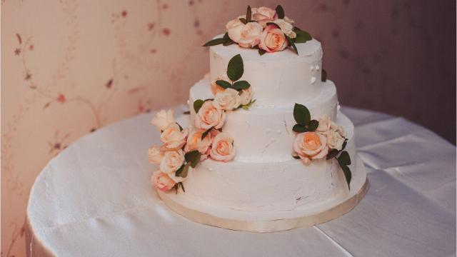 Nathaniel Reid Bakery Wedding Cake