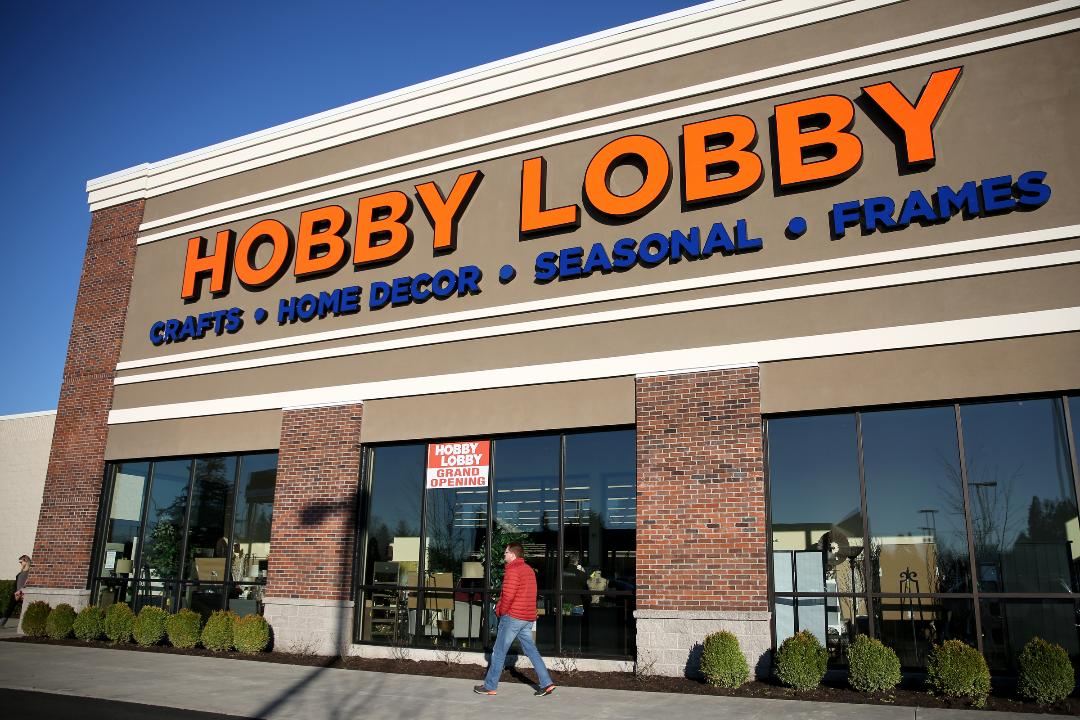 Hobby Lobby Opens At Willamette Town Center In East Salem
