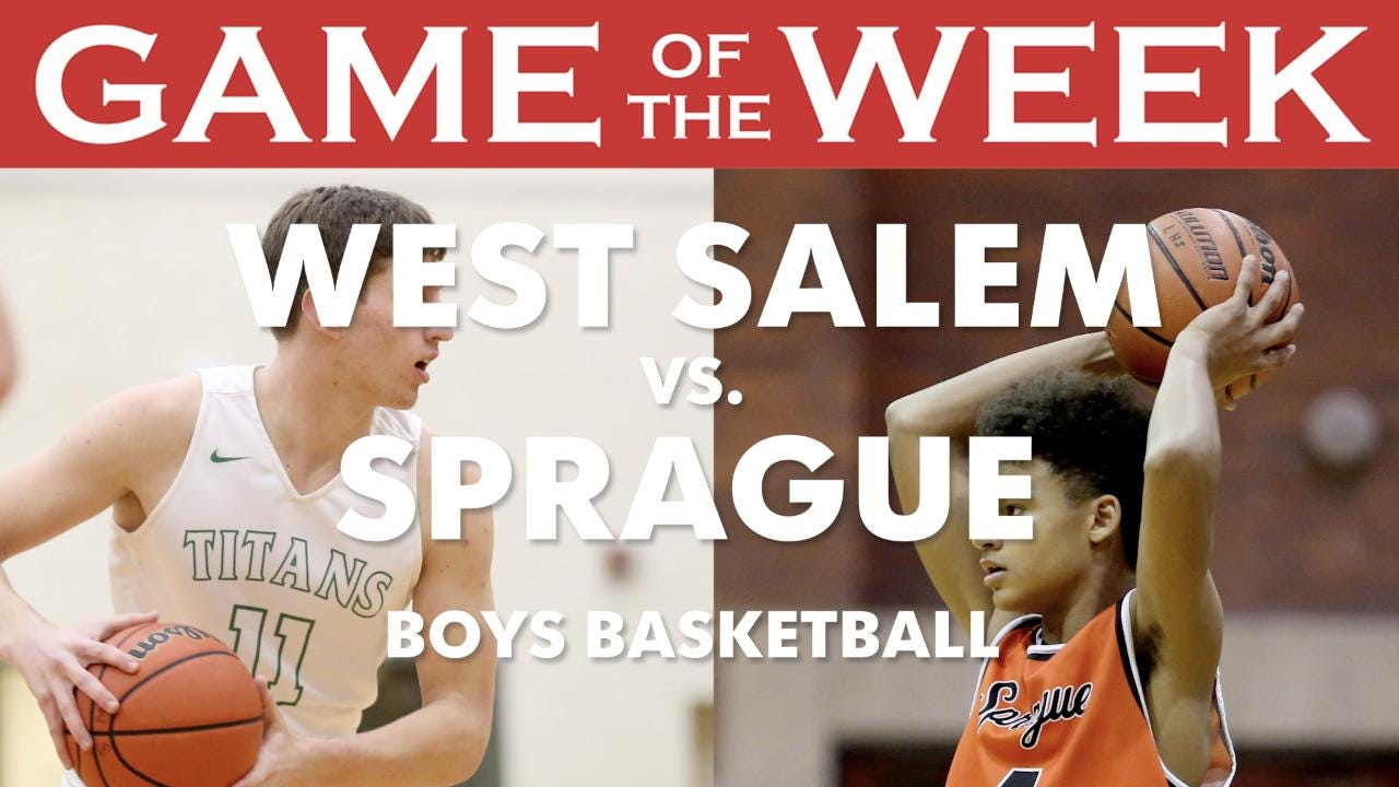 Statesman Journal sports reporters Pete Martini and Gary Horowitz preview the Game of the Week: West Salem vs. Sprague boys basketball.