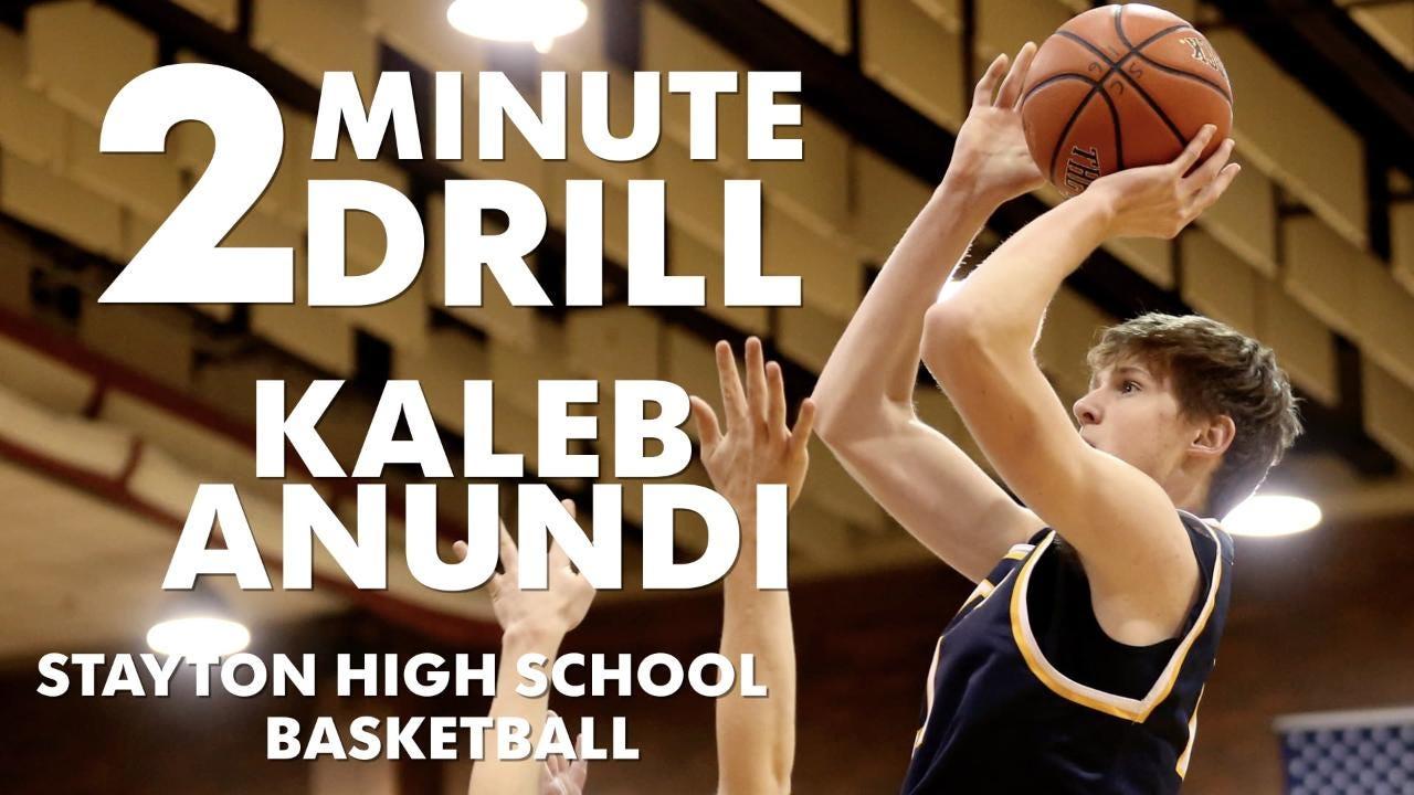 Kaleb Anundi, a Stayton basketball player, talks slam dunks, genetics class and metamorphosis.