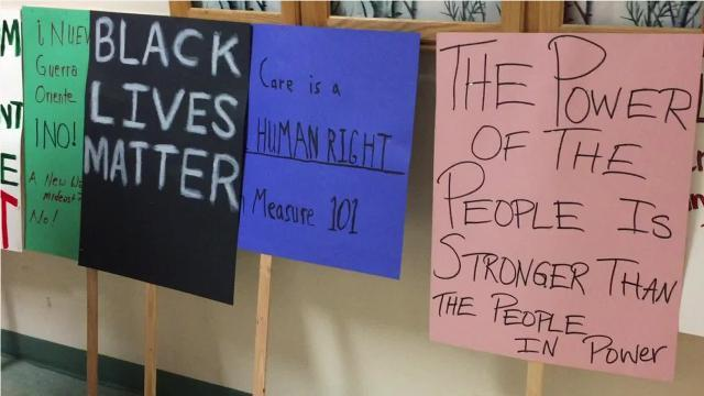 Salem leaders, students call for equality on Martin Luther King Jr. Day