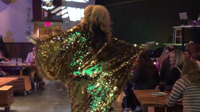 Shotskis Woodfired Eats is home to an All-Ages Drag Show, hosted by Ivanaha Fusionn and the Lipstick Divas the first Sunday of every month.