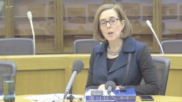 Gov. Kate Brown on climate change legislation