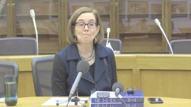 Gov. Kate Brown talks about addressing sexual harassment in Oregon government
