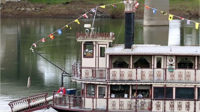 The Willamette Queen sternwheeler has been operating from Riverfront Park in downtown Salem for nearly 20 years.