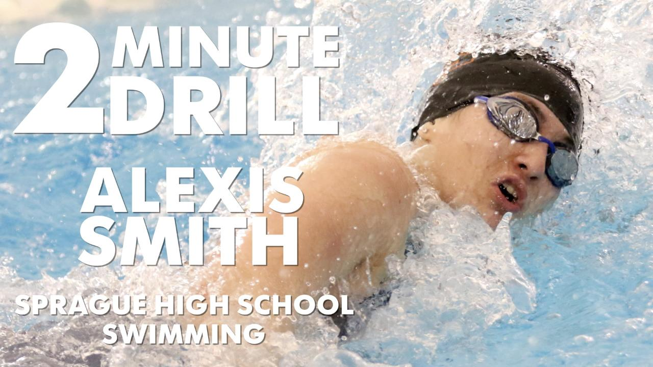 Alexis Smith, a Sprague swimmer, talks the Olympics, chicken and rice and speaking Spanish to herself.